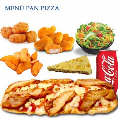 Z Pizza Mammoth Menu Menú Pan Pizza