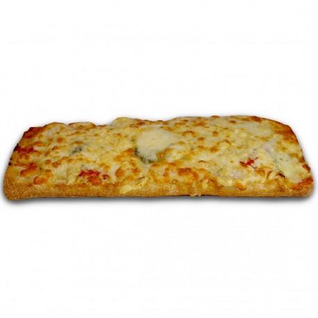 Pan Pizza 4 quesos