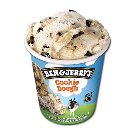 Tarrina de helado Cookie Duogh