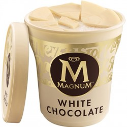 Tarrina helado Magnun 500ml Chocolate blanco