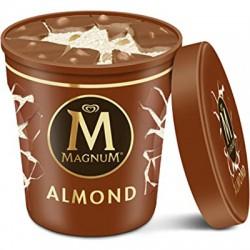 Tarrina helado Magnun 440ml Almendrado