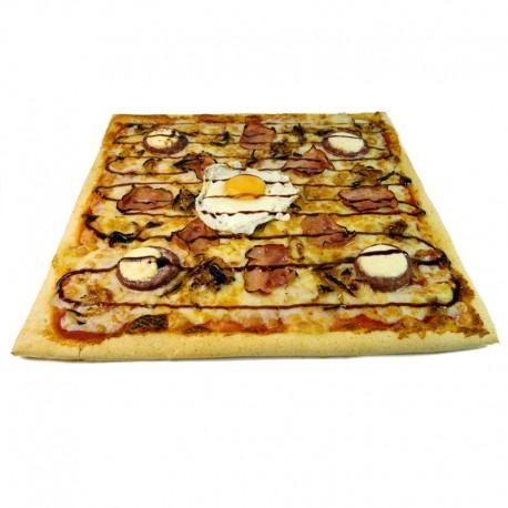 Pizza Burguer cuadrada + REGALO