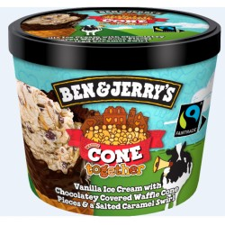Tarrina helado Ben & Jerry´s 445ml WAFFLE CONE TOGETHER