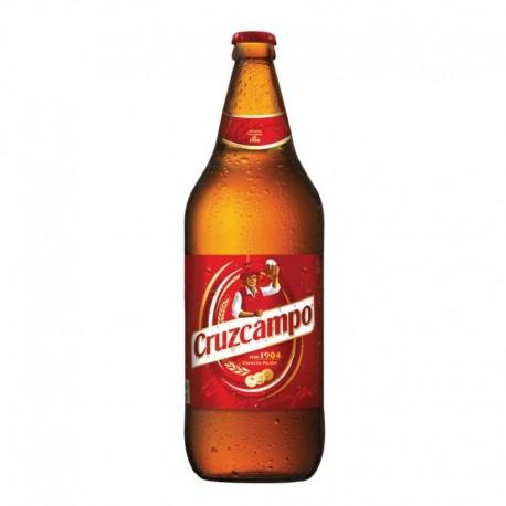 Cerveza Cruzcampo 1 litro
