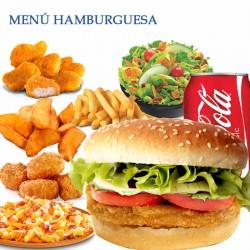 Menú Hamburguesa