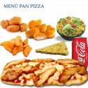 Menú Pan Pizza