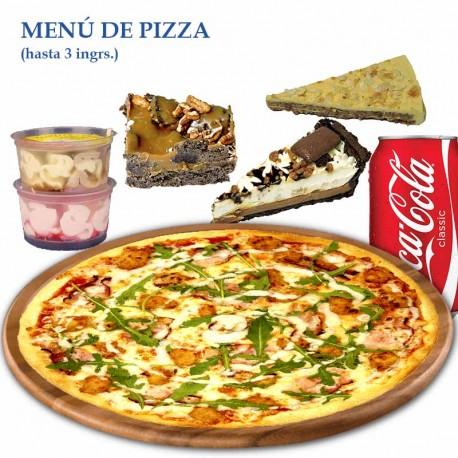 Menú Pizza