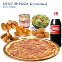 Menú Pizza para 2