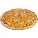 Pizza blanca de 4 quesos