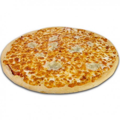 Pizza blanca de 4 quesos