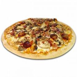Pizza especial de la casa familiar