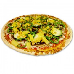 Pizza Vegetal Familiar