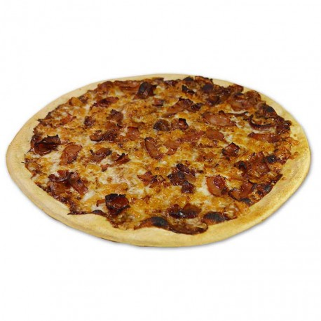 Pizza Bacon Crispy Caramelo