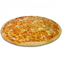 Pizza 5 quesos XXL + bebida o complemento