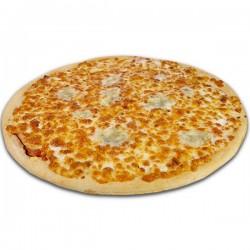 Pizza blanca de 4 quesos XXL + REGALO