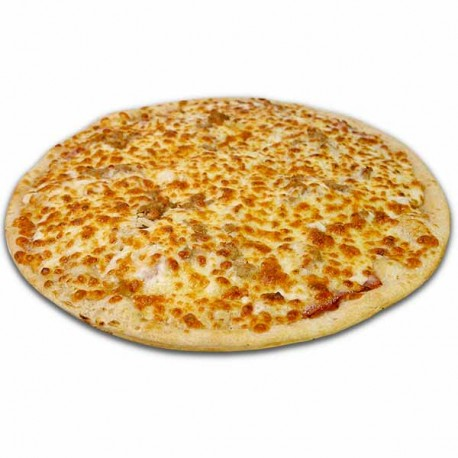 Pizza blanca Especial XXL + bebida o complemento