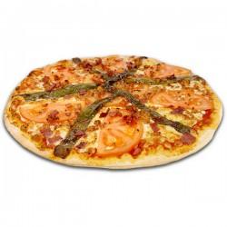Pizza Serranito cuadrada + REGALO