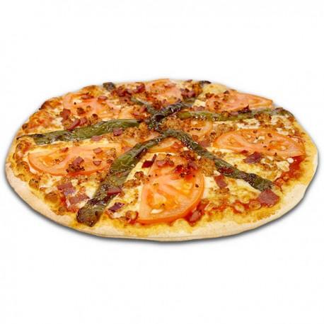 Pizza Serranito XXL + bebida o complemento