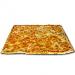 Pizza 4 quesos cuadrada + REGALO