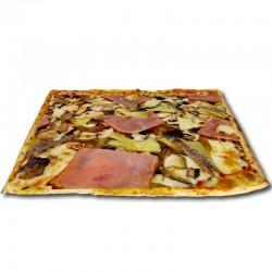Pizza Cuatro Estaciones cuadrada + REGALO