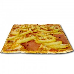 Pizza Curry XXL + bebida o complemento
