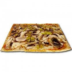 Pizza Diavola cuadrada + REGALO