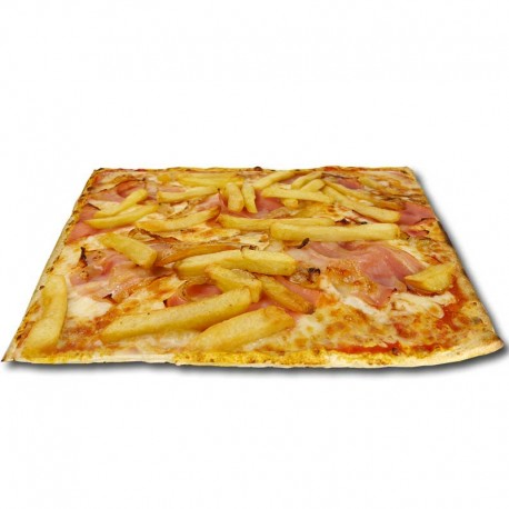 Pizza Papafrish XXL + bebida o complemento