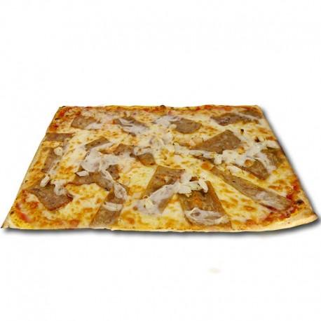 Pizza Turca ternera XXL + bebida o complemento