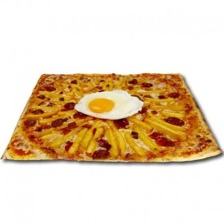 Pizza Rustica XXL + bebida o complemento