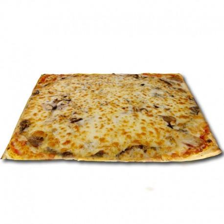 Pizza blanca Tartufa cuadrada