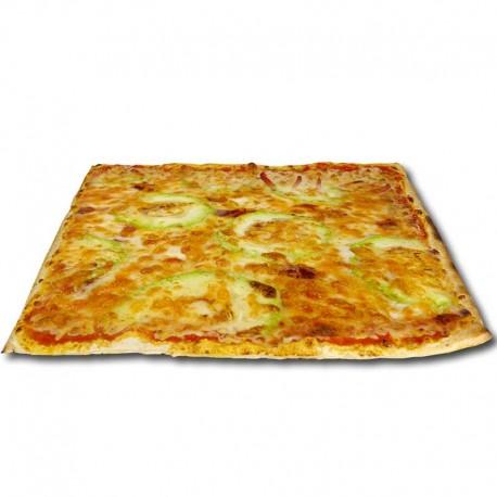 Pizza blanca Suprema cuadrada